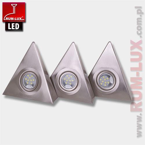 Oprawa kuchenna trójkątna OKT-3 LED 9 x 3